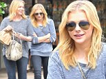 They're more like identical twins! Chloe Moretz and mother Teri head out in matching ensembles in Beverly Hills