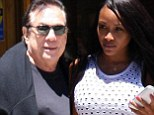 Donald Sterling and new 'girlfriend' Raquel Lee dine in Beverly Hills but leave separately... after billionaire called his wife a 'pig' in court