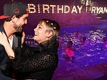Kaley Cuoco throws husband Ryan Sweeting elaborate surprise birthday party, complete with midnight pool dance off