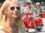Mother-daughter bonding: Gwyneth Paltrow enjoys a casual outing with mini-me Apple during family vacation in the Hamptons with estranged husband Chris Martin
