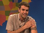 Fired: Brooks Wheelan announced on Monday via Twitter that he won't be returning to for another season of Saturday Night Live