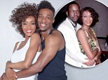 Now meet Bobby Brown: First picture of Arlen Escarpeta cuddled up with co-star Yaya Dacosta in Whitney Houston biopic