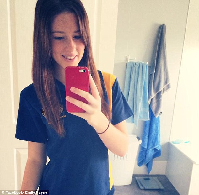 Emily Payne was killed in a country road car crash near Chinchilla in south west Queensland on Sunday, July 5