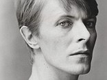 The usually flamboyant David Bowie is captured by Snowdon in a rare moment of quiet reflection