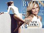 'I wouldn't even ménage with her!' Cameron Diaz laughs off rumours she's been intimate with bestie Drew Barrymore as she flashes the flesh in sexy new photo shoot