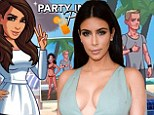 Virtual star: Kim Kardashian reportedly stands to make $200million from her hit video game Kim Kardashian: Hollywood