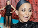 Nicole Richie shows off lithe pins in sheer gossamer-like skirt while promoting upcoming reality show