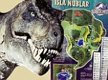 Inside Jurassic World: New leaked park brochure gives clues to which dinosaurs could be in the film and map of the island