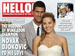 Love match: Novak Djokovic marries pregnant childhood sweetheart Jelena Ristic as they look forward to the birth of their first baby