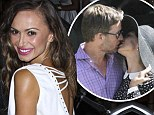 Karina Smirnoff arrives at the 9th Annual All-Star Celebrity Kickoff Party held at the Mondrian Los Angeles on July 14 without the mystery man she was spotted kissing in Beverly Hills on July 7