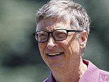Rich: Microsoft founder Bill Gates, pictured, tops the Forbes billionaires list