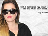 'I would surrender my being to see you whole once more': Khloe Kardashian posts cryptic message seemingly aimed at ex Lamar Odom