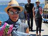 Ibiza did the trick? Game Of Thrones star Lena Headey looks relaxed as she prepares to be honoured at Ischia Global Fest