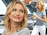 'There were lots of high fives!' Cameron Diaz reveals what it was like getting naked with Jason Segel for new film Sex Tape