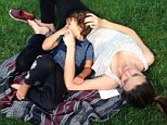 Walk in the park! Miranda Kerr and son Flynn take some time out together to enjoy the sunshine