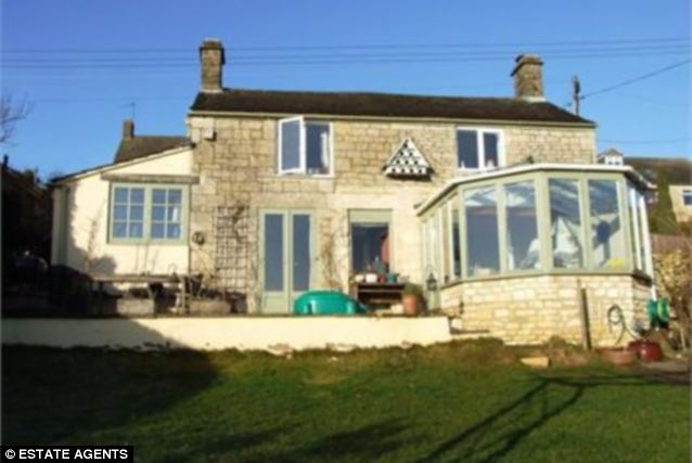 The house she could no longer afford: Savannahs Cotswold cottage. She sold the home in Stroud for £597,000 and made little profit out of it