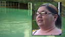 Family thanks woman who rescued girl in pool
