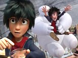 Trailer for Disney and Marvel's first animated superhero flick Big Hero 6 debuts