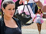 Welcome home! JWoww arrives back from the hospital with baby Meilani... to discover a party thrown by best pal Snooki
