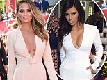 Trying to be like Kim? Chrissy Teigen takes style tips from Kardashian by donning a plunging jumpsuit to the ESPYS