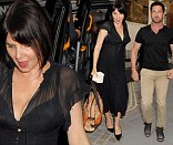 Sadie Frost and Gerard Butler lead the celebrity party pack as they step out at London's Chiltern Firehouse