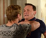 Spoiler: Things get heated on EastEnders as Peter violently confronts Billy over his arguments with Lucy on the night she died