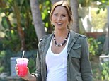 A source tells UsWeekly that Stacy Keibler, 34, will consume her placenta in capsule form following the birth of her daughter in August