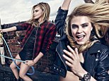 Cara Delevingne is a wild child in new Pepe Jeans campaign as she fools around in bath and bin with hot male models