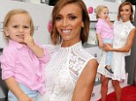 Mommy and me! Giuliana Rancic shows off slender figure in all white as she and son Duke put on an adorable display