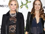 It's a sheer thing! Ashley Benson and Olivia Wilde don translucent tops as they attend the launch of H&M's Fifth Avenue store