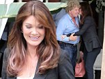 They've not lost that loving feeling! Lisa Vanderpump kisses husband goodbye as she films Real Housewives Of Beverly Hills