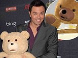 Seth MacFarlane sued by company claiming Ted 'copied web series Charlie The Abusive Teddy Bear without permission'