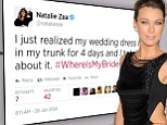Wedding countdown! Justified's Natalie Zea tweets about bridal gown... after announcing engagement to Travis Schuldt just six months ago