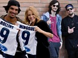 Kylie Minogue has footy fever during The Voice Australia hometown visit while Joel Madden gets schooled in Sydney's west