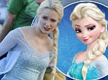 First look at Georgina Haig as Frozen's Elsa on the fourth season of ABC's Once Upon a Time