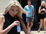 Out and about: Olivia Newton John's daughter Chloe Lattanzi steps out in LA as she runs errands