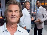 Kurt Russell drops by Extra studios as he earlier reveals Quentin Tarantino's Western film The Hateful Eight will likely begin production in 2015