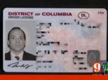 Room for improvement: Gray's license clearly says USA at the top right. His complaints were met with an assurance from a TSA higher-up that Orlando agents would be instructed on valid forms of ID including the Washington DC license