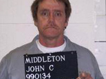 FILE - In this 2007 file photo provided by the Missouri Department of Corrections is John Middleton. Middleton is scheduled to die for the 1995 murder of Alf...
