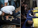 Mourners in Palestine and Israel