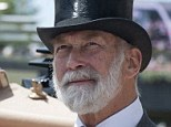 Health battle: Prince Michael of Kent, pictured at this year's Royal Ascot with his wife,  underwent surgery for prostate cancer and has been successfully receiving treatment