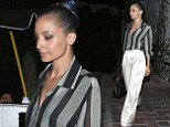 Height of fashion! Nicole Richie was spotted heading out in Beverly Hills for some dinner with a female companion
