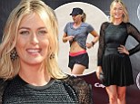 So that's how she does it! Maria Sharapova squeezes in gruelling workout just hours before wearing revealing LBD to the ESPYS