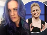 So long, Sookie! Anna Paquin dyes her signature blonde locks purple after wrapping True Blood