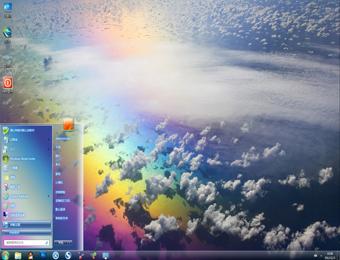 透明win7电脑桌面主题主题下载
