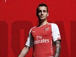 Announcement: Arsenal made the transfer public on their twitter with a picture of the new signing