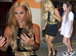 Geordie Shore¿s Vicky Pattison debuts new blonde hairdo¿ after co-star Charlotte Crosby admits weight-gain has made her ¿too scared¿ to weigh herself