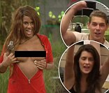 Big Brother's Biannca bares her breasts during steamy lap-dance for Helen... as she expresses admiration for 'pretty' Winston