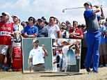 Rory McIlroy leads The Open ahead of Tiger Woods and Adam Scott after a first round 66