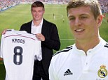 Galactico: Toni Kroos completes £24m move to Real Madrid from Bayern Munich